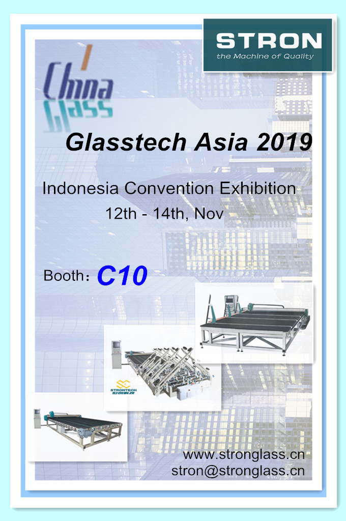 Visit STRON at GlassTech ASIA 2019